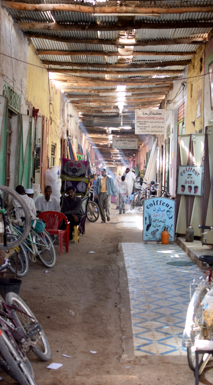 Marokko Souk Rissani Menschen