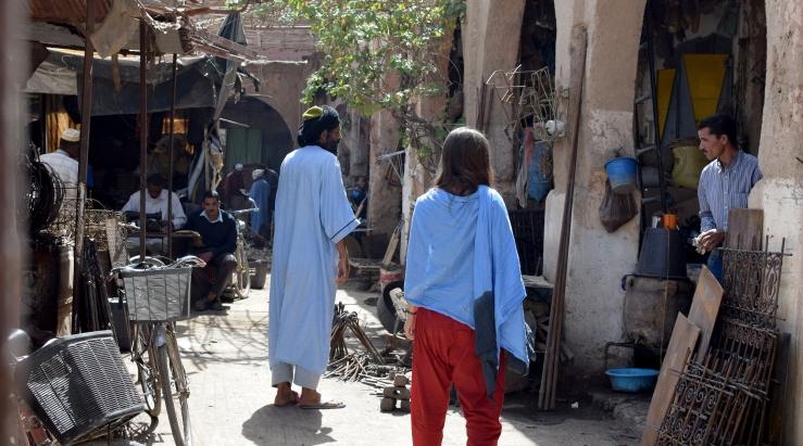 Marokko Souk Rissani